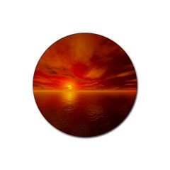 Sunset Drink Coasters 4 Pack (round)
