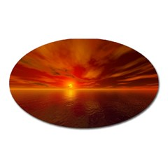 Sunset Magnet (Oval)