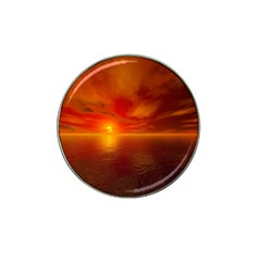 Sunset Golf Ball Marker (for Hat Clip)