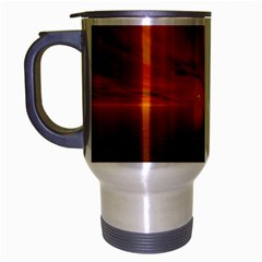 Sunset Travel Mug (Silver Gray)