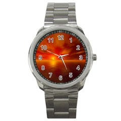 Sunset Sport Metal Watch