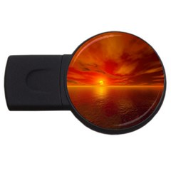 Sunset 4GB USB Flash Drive (Round)