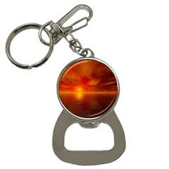 Sunset Bottle Opener Key Chain