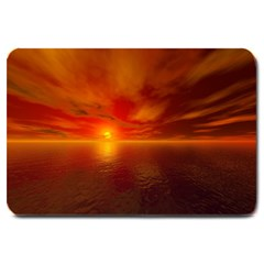 Sunset Large Door Mat