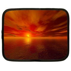 Sunset Netbook Case (XL)