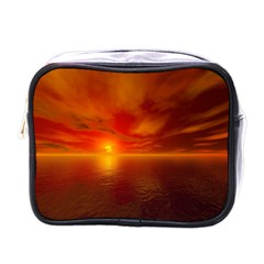 Sunset Mini Travel Toiletry Bag (one Side)