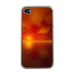 Sunset Apple iPhone 4 Case (Clear)
