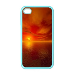Sunset Apple iPhone 4 Case (Color)