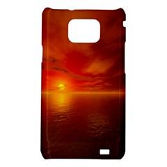 Sunset Samsung Galaxy S II i9100 Hardshell Case
