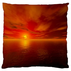 Sunset Large Cushion Case (Two Sided)
