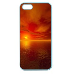 Sunset Apple Seamless iPhone 5 Case (Color)