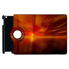 Sunset Apple Ipad 3/4 Flip 360 Case