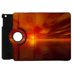 Sunset Apple iPad Mini Flip 360 Case