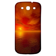 Sunset Samsung Galaxy S3 S III Classic Hardshell Back Case