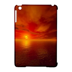 Sunset Apple iPad Mini Hardshell Case (Compatible with Smart Cover)