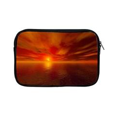 Sunset Apple Ipad Mini Zipper Case