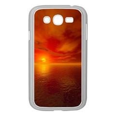 Sunset Samsung Galaxy Grand DUOS I9082 Case (White)