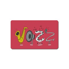 Jazz Magnet (name Card)