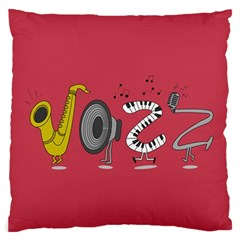 Jazz Large Cushion Case (two Sided)