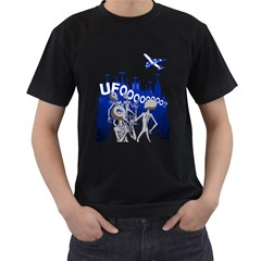 The UFO Mens' Two Sided T-shirt (Black)