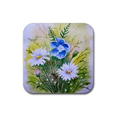 Meadow Flowers Drink Coasters 4 Pack (Square)