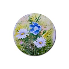 Meadow Flowers Drink Coasters 4 Pack (Round)