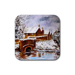 Silent Winter Drink Coaster (Square)