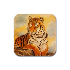 Tiger Cub Drink Coasters 4 Pack (Square)