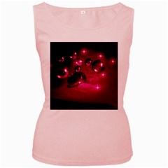 Sweet Dreams  Womens  Tank Top (Pink)