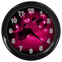 Sweet Dreams  Wall Clock (Black)