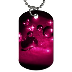 Sweet Dreams  Dog Tag (One Sided)
