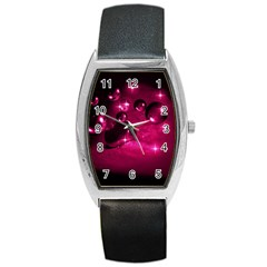 Sweet Dreams  Tonneau Leather Watch