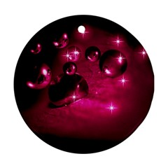 Sweet Dreams  Round Ornament (two Sides)