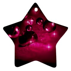 Sweet Dreams  Star Ornament (two Sides)