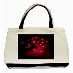 Sweet Dreams  Twin-sided Black Tote Bag