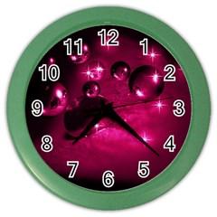 Sweet Dreams  Wall Clock (Color)