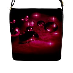 Sweet Dreams  Flap Closure Messenger Bag (large)