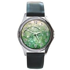 Dreamland Round Metal Watch (Silver Rim)