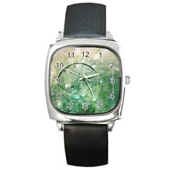 Dreamland Square Leather Watch