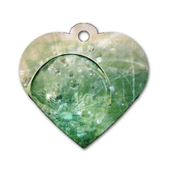 Dreamland Dog Tag Heart (Two Sided)