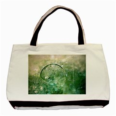 Dreamland Twin-sided Black Tote Bag