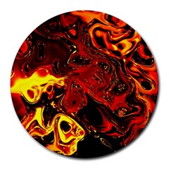 Fire 8  Mouse Pad (Round)