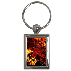 Fire Key Chain (Rectangle)