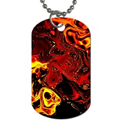 Fire Dog Tag (two Sided)