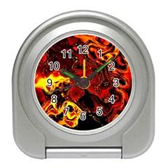 Fire Desk Alarm Clock