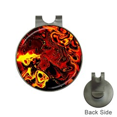 Fire Hat Clip with Golf Ball Marker