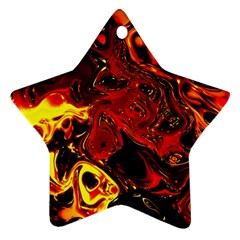 Fire Star Ornament (Two Sides)