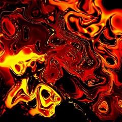 Fire Canvas 12  x 12  (Unframed)
