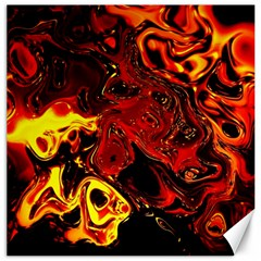 Fire Canvas 16  X 16  (unframed)