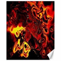Fire Canvas 16  x 20  (Unframed)